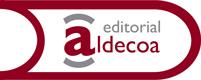 Editorial Gráficas Aldecoa. Logo