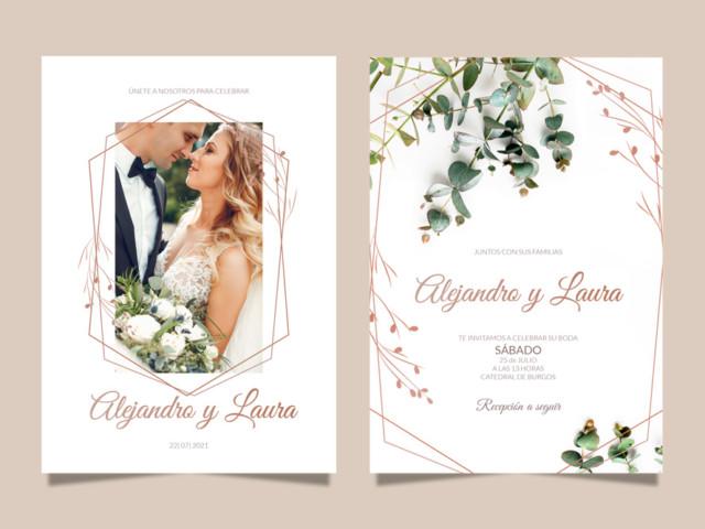 Graficas Aldecoa Invitaciones de boda